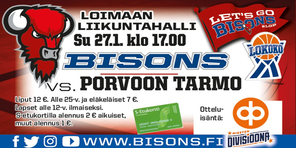 Bisons-Porvoon_Tarmo
